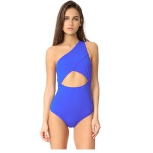 Kore Swim 'Calypso Maillot' blue one piece